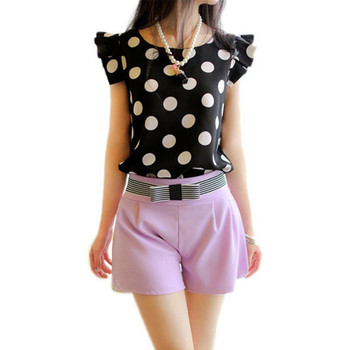 Casual Chiffon Shirt Short Sleeve 1