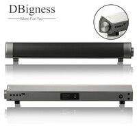 Dbigness Mini Soundbar Bluetooth Speaker Slim Magnetic Stereo Sound Subwoofer Speaker HIFI Speaker For Computer Tablet