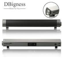 Dbigness мини bluetooth-колонка Динамик тонкая магнитная стерео звуковой сабвуфер hi-fi-колонка для компьютера для планшета телевизора