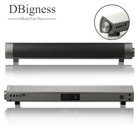 Dbigness Mini Soundbar Bluetooth Altoparlante Magnetico Sottile Stereo Sound Subwoofer Speaker STEREO Speaker per Computer Tablet TV