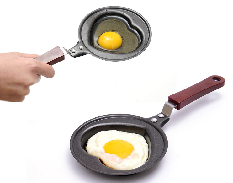 wholesale 300pcs breakfast omelette pan kt love smiley omelette device frying pan pancake pan