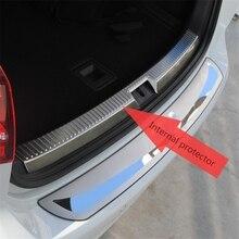 Для Volkswagen VW golf 7 Mk7 защитная накладка на багажник пластина 2013 golf 7 задняя защита автомобиля аксессуары для укладки