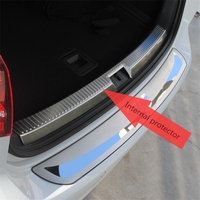 For Volkswagen VW Golf 7 Mk7 Trunk Scuff Plate 2013 2014 2015 golf 7 Rear guard Car Styling Accessories