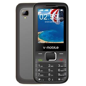"""Image 1 - 2G GSM 2.4 """"Double Sim MP3/MP4 Lecteur Vidéo GPRS Bluetooth 1200 mAh Clavier bouton Débloqué Mobile téléphone Portable débloqué Pas Cher Téléphone"""