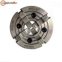 High precision of four jaw independent chuck 160mm K72 160 for sales
