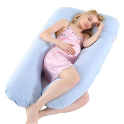 Full Body Pregnancy Pillow Women Nursing Cushion Cotton Pillowcase U Shape Maternity Pillows Pregnancy Side Sleepers Bedding