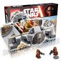 219 unids bela 05021 new star wars droide escape pod regalos compatible con lego monta los bloques huecos