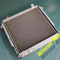 ALLOY RADIATOR For JEEP XJ COMANCHE 84-91/WAGONEER 84-87/CHEROKEE 84-94 2.1D,2.5/2.8