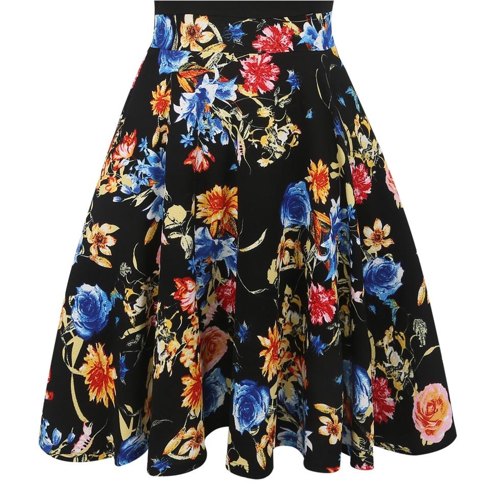Oxiuly Yaz Elbise 2018 Elbise Kadın Kısa Kollu Renkli Çizgili - Bayan Giyimi - Fotoğraf 5