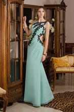 meistverkauften meerjungfrau lange abendkleid chiffon spitzenapplikationen prom kleider elegante formale kleid Hochzeitsgesellschaft
