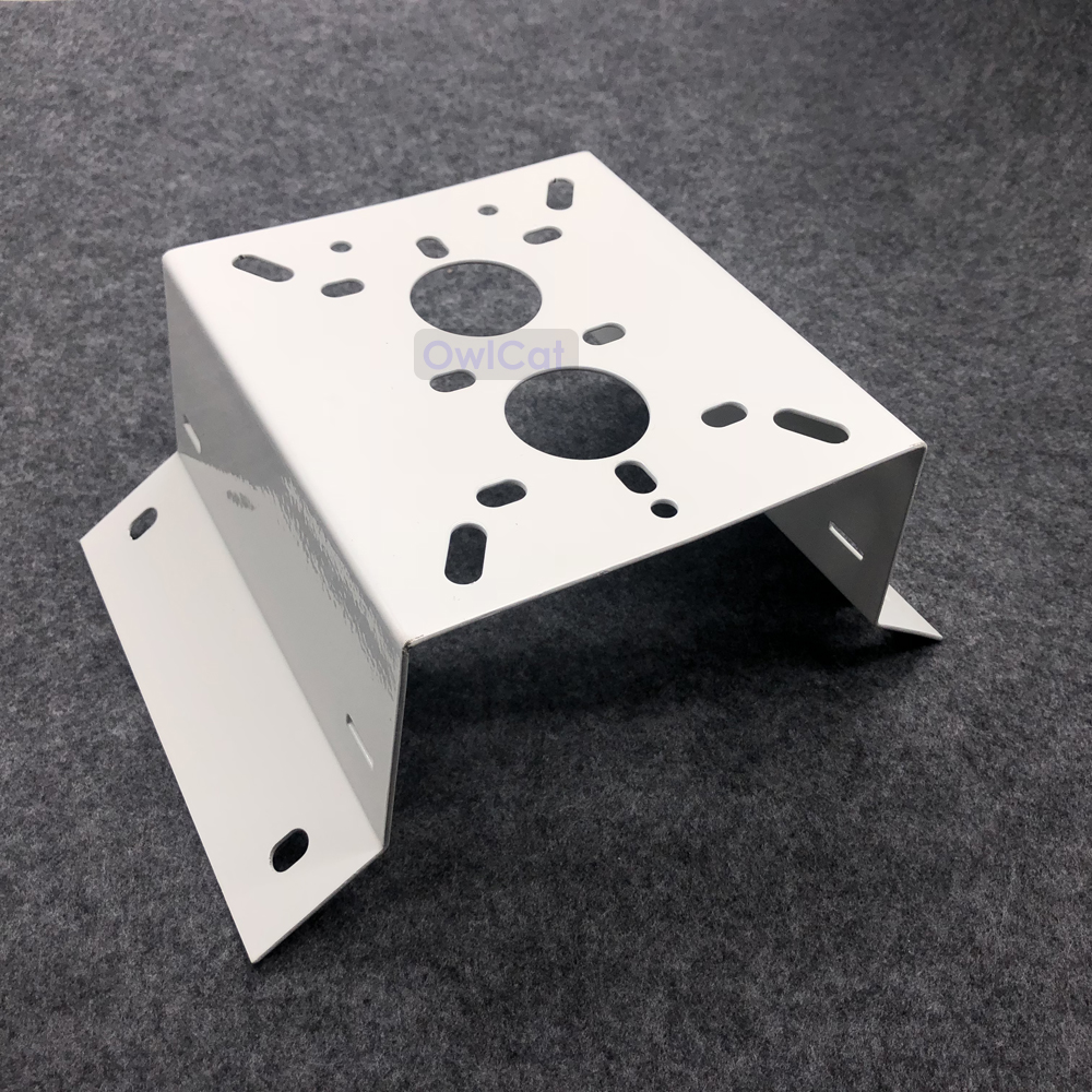 High Quality External Right Angle 90 Degree Corner Bracket Mounting Outside CCTV Bracket Stand Holder For Security CCTV Camera
