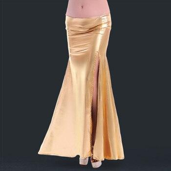 61f25e5666 2018 mujer nueva PU sexy falda de danza del vientre-6016 - a.gunasai.me