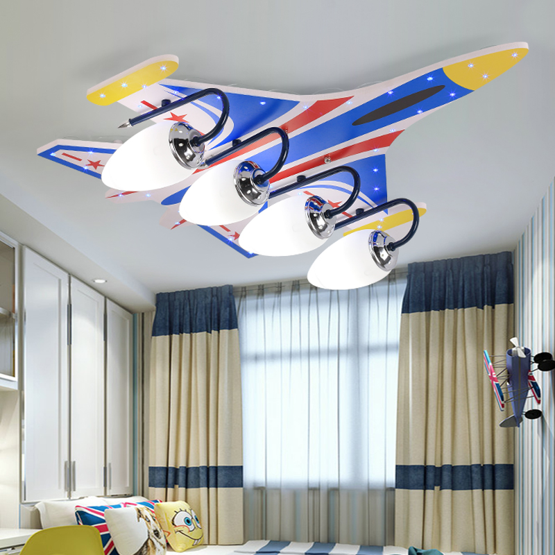 DIY Acrylic Airplane LED Ceiling Light Modern Kids Bedroom Ceiling lamp decorative home indoor lightingDIY Acrylic Airplane LED Ceiling Light Modern Kids Bedroom Ceiling lamp decorative home indoor lighting