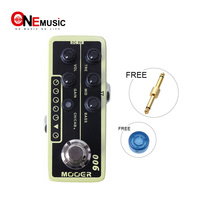 Mooer Micro Digital Preamp 006 Classic Deluxe Delay and Reverb effect guitar pedal with 3 band EQ guitar pedal MOOER knob