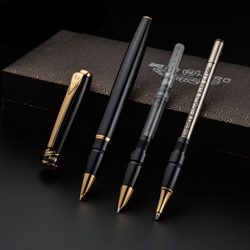 1 セットペン Iraurita 万年筆セットのためのライティング金属 Caneta 文房具オフィススクール用品ベストギフト 1066  グループ上の オフィス用品 & 学用品 からの 万年筆 の中 1