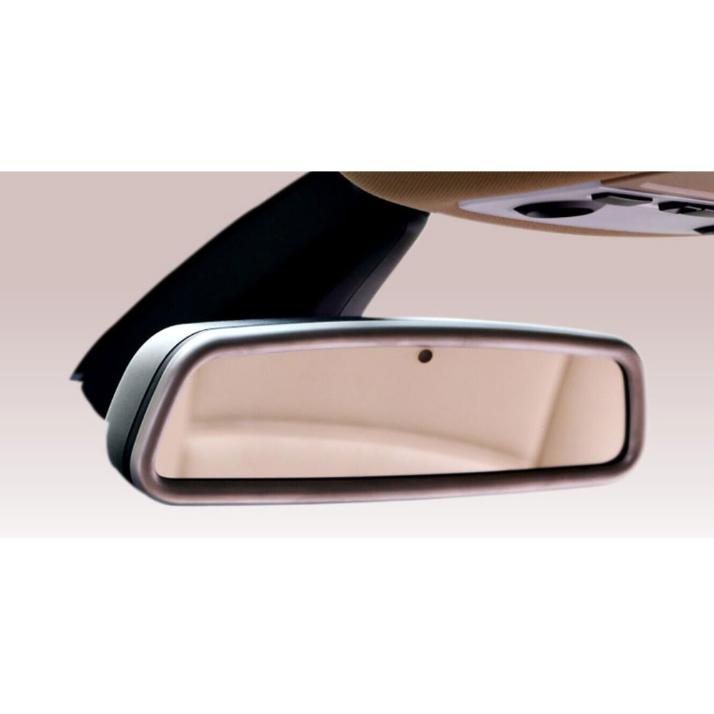 Car Interior Rearview Mirror Frame Cover Decoration Trim Fit For BMW 7 Series 750Li F10 X5 X6 2011-2016 Fit Land Rover Jaguar