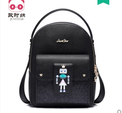 Princess sweet lolita Backpack female Korean winter trend all-match small fresh and adorable wind backpack travel bag 171755 the explosion of the classic all match solid colored body hip high elastic denim pants feet female winter bag mail
