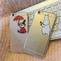 Moomin Mymm Case For iPhone 7 7Plus 5 5s 6 6s Plus TPU Soft Phone Cases Transparent Back Cover Cute Cartoon Funda Coque    B844