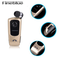 Original FineBlue F920 Wireless Auriculares Driver Bluetooth Earphone Luetooth Earphone Call Remind Vibration Wear Clip Headset