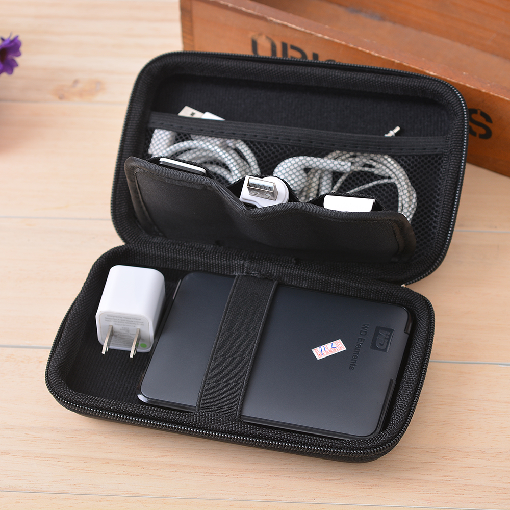 Image 5 - 1 PC Headphone Storage Bag Data Cable Storage Bag-in Storage Bags from Home & Garden