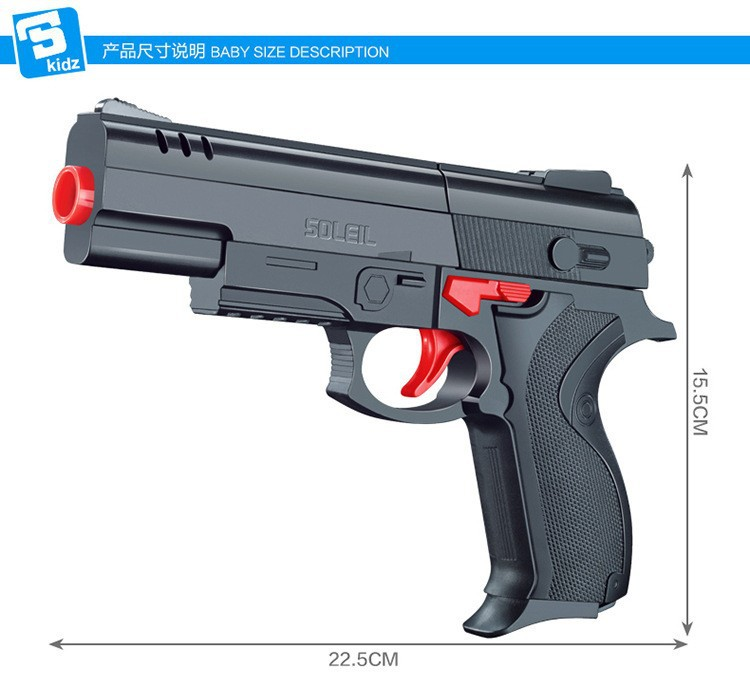 Desert Eagle Nerf airsoft.gun Airgun Soft Bullet Gun Paintball Pistol Toy CS Game Shooting Water Crystal - Happy Life and Live free store