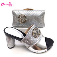 Italian Shoes with Matching Bags for Women Matching Shoes and Bag Set In Heels Nigerian Shoes and Matching Bags African Shoes