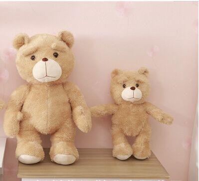 ФОТО big size cute plush Eva base teddy bear doll lovely bear toy gift about 80cm