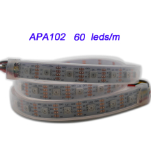 50m DC5V APA102 Smart led pixel strip light;30/60 leds/m;DATA and CLOCK seperately;IP30/IP65/IP67 SMD 5050 led lamp tape