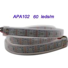 50m DC5V APA102 Smart led pixel strip light;30/60 leds/m;DATA and CLOCK seperately;IP30/IP65/IP67 SMD 5050 led lamp tape