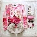 3D Shopping Nova Série Rosa Rosas Flor Floral Camisola das Mulheres Roupas Unissex Dupla Impressão Hoodies Tops de Primavera Brilhante