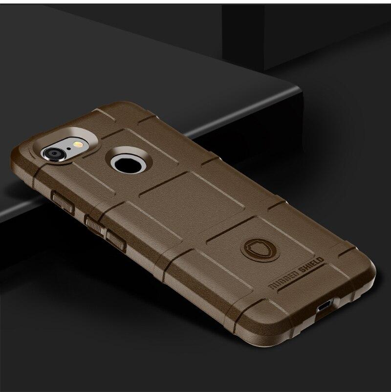 Plain Phone Case For Google Pixel 3 Cases Hard PC Anti-Knock Cover For Google Pixel 3 Back Covers Luxury Business Shell
