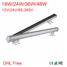DHL Супер яркий 18 Вт 24 Вт 36 Вт 48 Вт водонепроницаемый IP65 напольный Led Wall шайба лампы Пейзаж свет