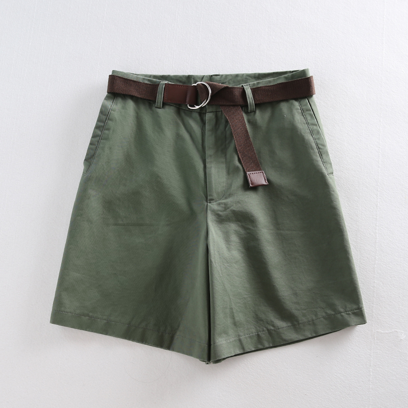 2019 Summer Leisure Thin Shorts for Women Loose Large Size Wide Leg Shorts with High Waist Female A-line Short Feminino 4 Colors