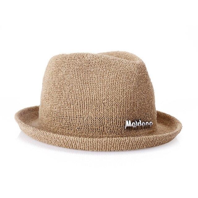 Осень и зима простой мода белье вязание дамы hat Складная путешествия существенные женщины cap
