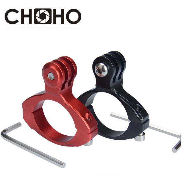 For Gopro Bike Aluminum Mount Bicycle Handlebar Motorcycle Holder For Go Pro Hero 8 7 6 5 4 SJCAM SJ5000 Xiaomi Yi 4K II Lite