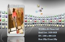 7 pulgadas Mini Pad Android Tab pc WiFi GPS Bluetooth Teléfono FM3G llamada IPS 1280*800 LCD 1 GB 8 GB 5Mp cámara y cámara de 2Mp Quad núcleo