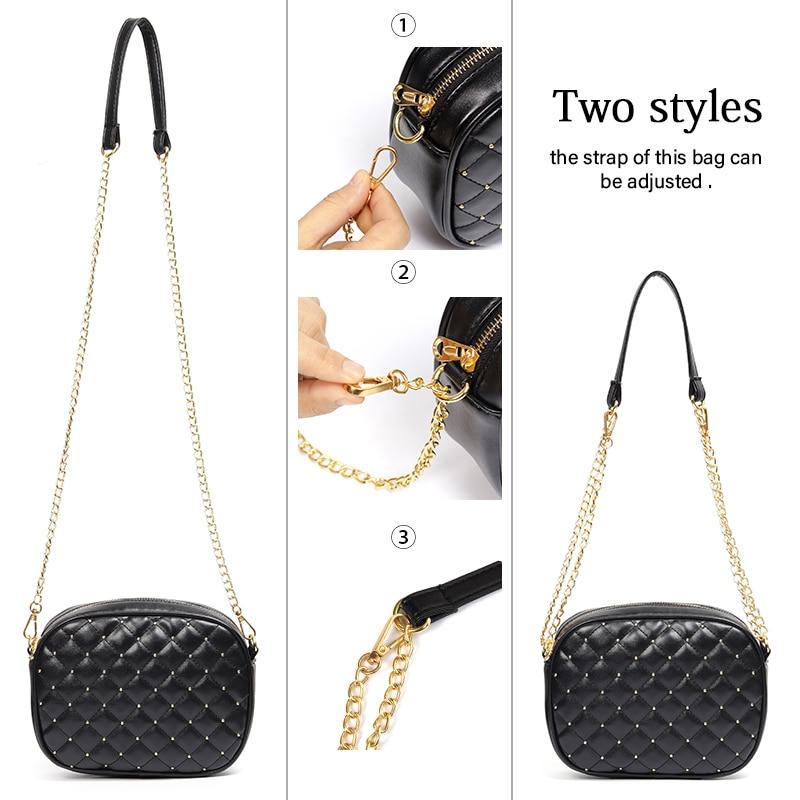 BATTY BANANA Fashion Crossbody Bags For Women 2019 Chain Leather Handbag Party Female Bag Designer Womens Shoulder Bag Ladies