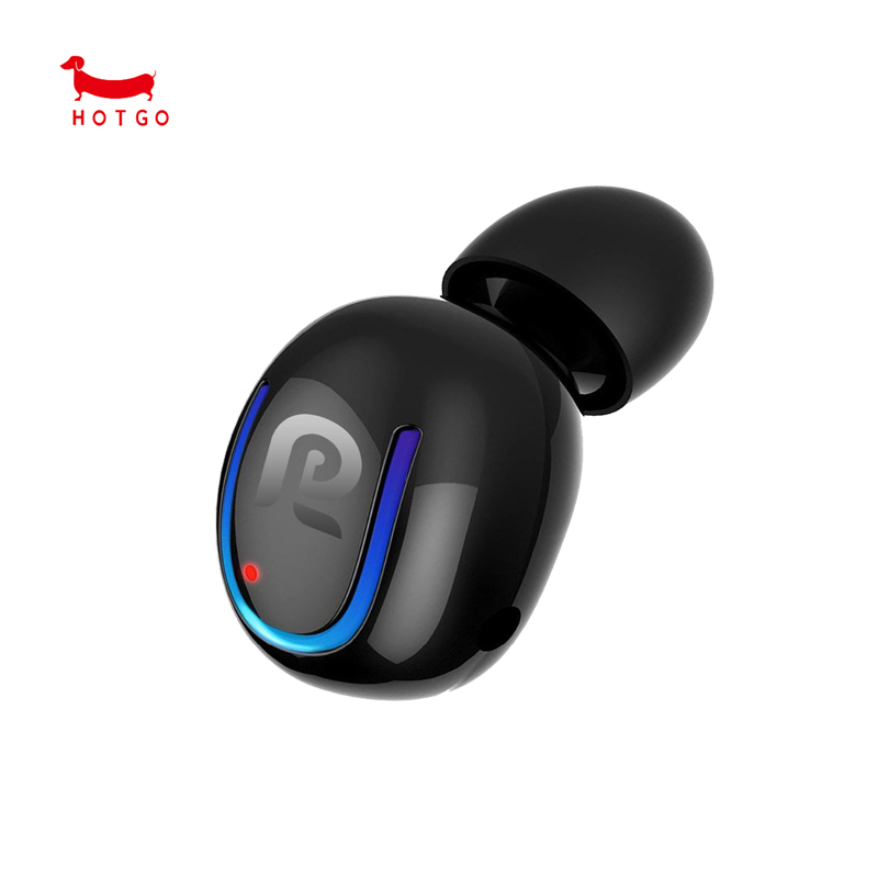 HOTGO Wireless In-Ear Sport Earbud 8 Hours Talking Time HD Microphone Bluetooth Headset auricolare bluetooth con micro