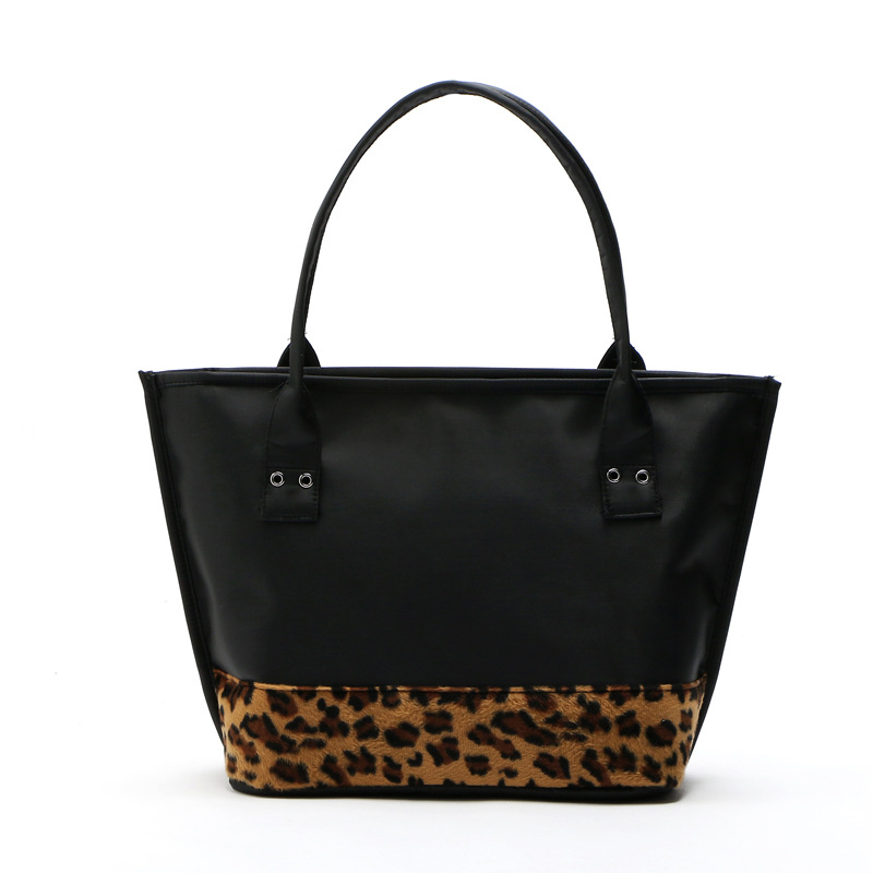 2016 Women Bags for Autumn And Winter Classic Bag Fashion Handbag Shoulder Leopard Splice