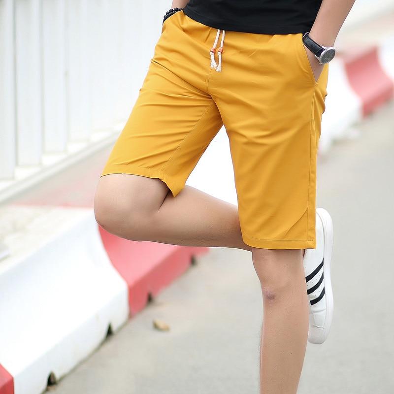 GVNDSJING Brand Men Shorts Elastic Waist Beach Shorts Quick Drying Casual Clothing Shorts Mens Board Short Plus Size 5XL