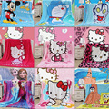 70x100 cm snow queen Elsa Anna worsted flannel baby Cartoon Animal Style  Blanket   Children Air conditioning blanket Swaddling
