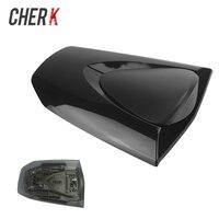Cherk Motorcycle Black Plastic Passenger Rear Seat Cover Cowl For Honda CBR600RR CBR 600RR CBR 600 RR F5 2007 2012
