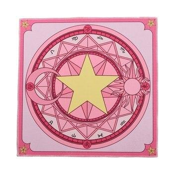 Аниме коврик Сакура собирательница карт квадратный