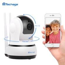 Techage 720 P 1080 P Беспроводная ip-камера двухсторонняя аудио безопасность для наблюдения в помещении купол Wi-Fi камера видеонаблюдения ночного видения детский монитор