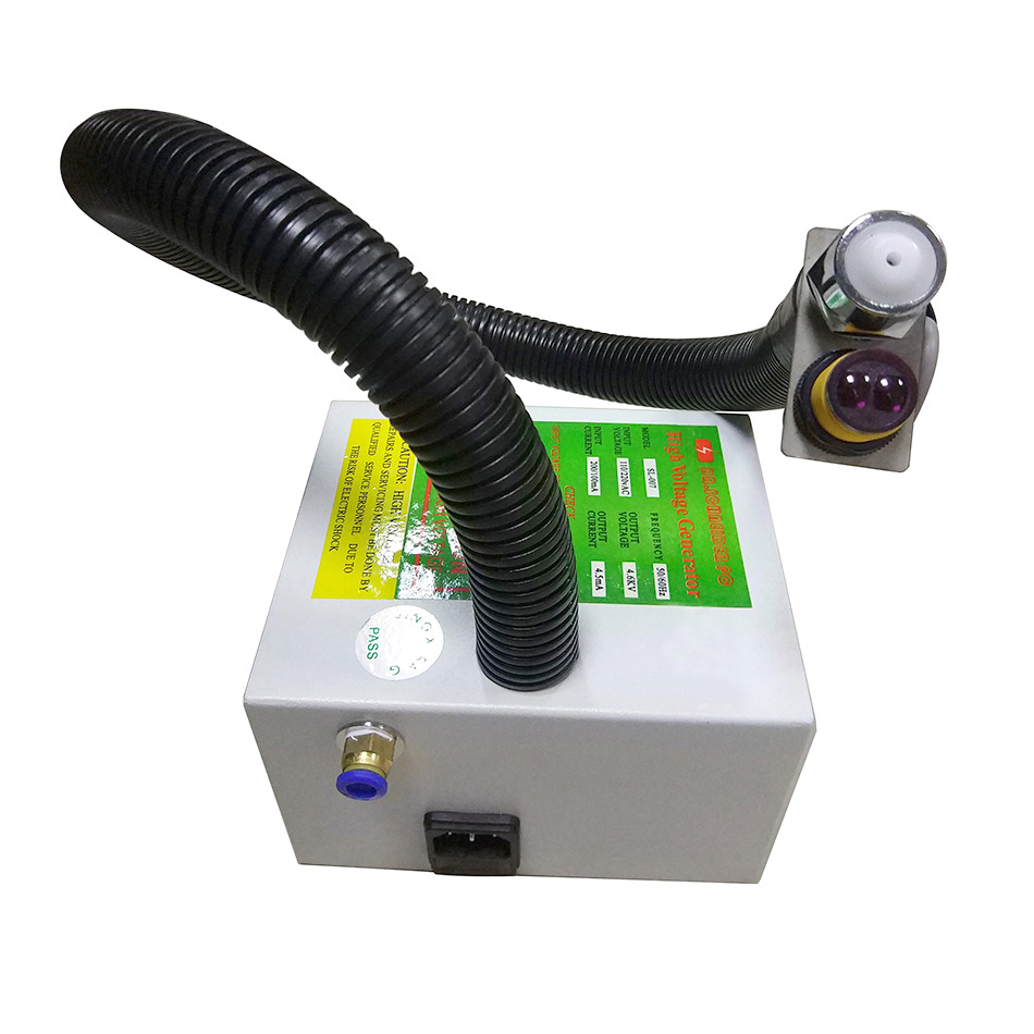 SL-080F ESD Anti-static Ionizing Air Snake Static Eliminator Ionizer Air Snake Dust Free for Electronics automatic induction type ionizing air snake