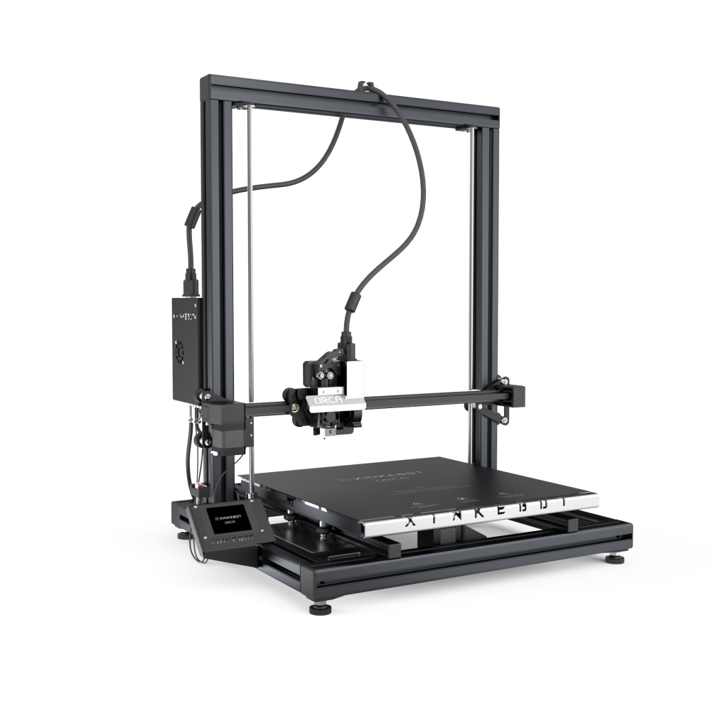 XINKEBOT Big Size Orca2 Cygnus Dual Extruder Large 3D Printer with Auto Leveling Heated Bed Fast Shipping  2017 xinkebot all metal 3d printer led single dual extruder 400x400x480mm big size 3d printer