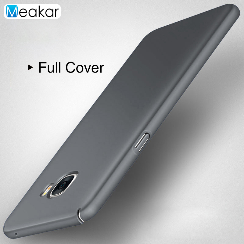US $1 2 30% OFF|Full Cover Hard Plastic shell 5 7for Samsung galaxy C7 Case  For Samsung galaxy C7 C7000 Cell Phone Cover Case-in Fitted Cases from