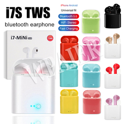 WPAIER I7S TWS Portable Bluetooth Headphones Wireless Earphones With Charging Box bluetooth Earbuds Universal I7 mini headsets