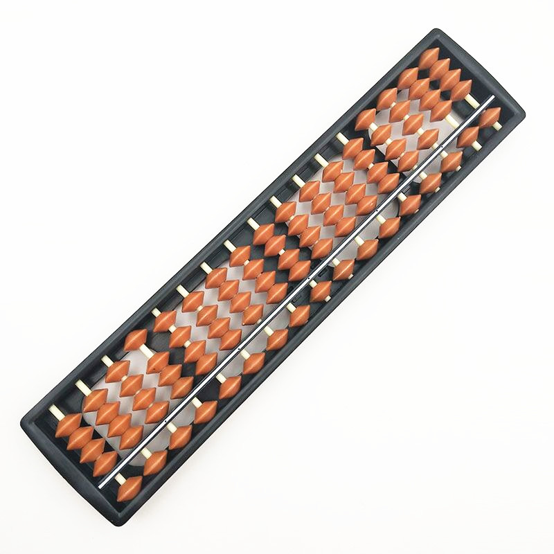 Clever 17 Digits Abacus Perlen Spalte Kind Schule Lernen Aids Werkzeug Mathematik Business Chinesische Traditionelle Abacus Pädagogisches Spielzeug