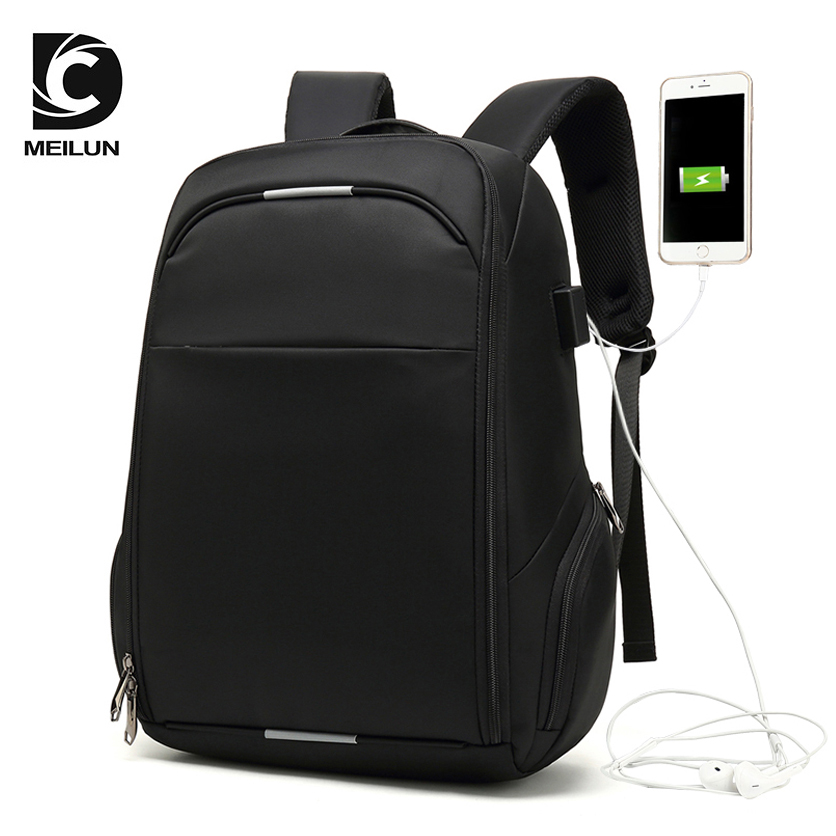 Laptop Backpack External USB Charge Computer Backpacks Anti-theft Waterproof Bags for Men ML007 kingsons 1517 laptop backpack external usb charge computer backpacks anti theft waterproof bags for men women2018new